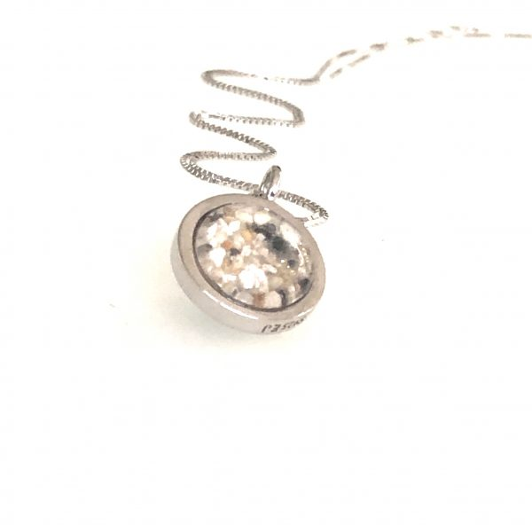 Small Ashes in Glass Pendant